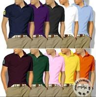 Hot Sale Mens Brand Shirts+Men's Short Sleeve T-Shirts Slim Fit, Casual Classic shirt, , Free  shipping