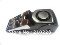 Free Shipping wholesale  10pcs/ lot Wholesale Security Door Stop Wedge Siren Alert Home Hotel Door Alarm