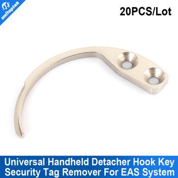 20pcs/lot Hook Detacher EAS Hard Tag Mini Handheld Portable Hook Key