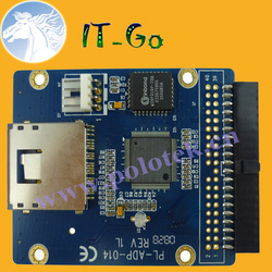 SD to IDE Adapter Female IDE 40Pin 3.5 Inch PATA to SD MMC MS Card IT-GO--Free shipping(China (Mainland))