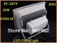 8pcs/lot  wholesale 50W LED Flood Light, IP65 85-265V led floodlight,High Power Waterproof led projecting light