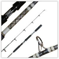 Jig rod, 1pc, 6', fibre glass fishing rod,
