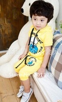 Free Shipment Fashion kId's Suit,Vest+Pants 2 Color  Wholesales 4pcs/lot 137