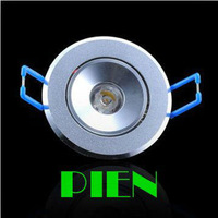 1W 3W mini Recessed Led Downlight high power 85V- 260V 110-330LM with LED Driver High Quality Free shipping 5pcs