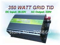 350w Grid Tie power Inverter for solar/wind DC28V-52V,AC220V, 350 watt