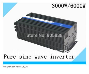 Free shipping!!DC to AC Power Inverter 3kw/Peak power 6000w (CP-P-3000W)