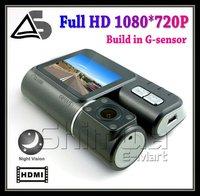 "HD 2.0"" Car DVR 4 LED Nightvision/car Camera/car Video Recorder,car motion detection,Full HD720P"