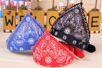 Free shipping! Mix color order!Wholesale 36pcs/lot size S red/blue/pink/black pet scarf,dog scarf,dog bandana,pet collar