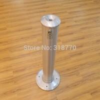 FREE STANDING  ashtray bin for smoking areas, YB-HW701A burglarproof, aluminium outdoor ashtray.