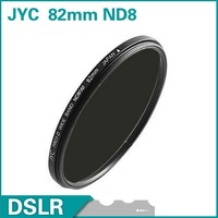 JYC 82mm Neutral Density ND8 Filter lens filter Fast shipping