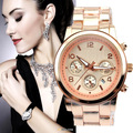 Free Shipping,5 Colors for Options Fashion Steel Branded Wrist watch for Men and Women Gift Watches With Date Calendar
