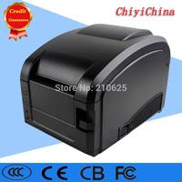 black usb port GP-3120 Barcode Printer thermal barcode printer
