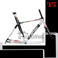 Time RXRS ULTEAM 2010 Module carbon frame,Road Bike Frame,fork,headset,seatpost,seat clamp,T3 white color, free shipping