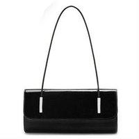 FREE SHIP-New Fashion Women&ladies tote Patent Real Leather Genuine Leather Handbag Shoulder Bag Purse(black,yellow,blue,white)