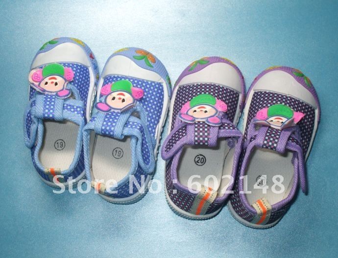 2012 Popular style -- 4pairs/lot free shipping child sport shoes/kid shoes/child shoes/,best gift for your baby(China (Mainland))