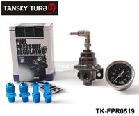Tansky - TOM* Fuel Pressure Regulator /Fuel Regulator With Black Gauge TK-FPR0519