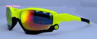Free shipping Fluorescent Green 22color sport eyeglasses Jawbone sunglasses fashion oculos de sol gafas men sun glasses anteojos