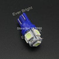 100 x  T10 194 168 W5W 5050 5SMD 5 LED High Power LED Light Bulb white Reading Light Parking Light