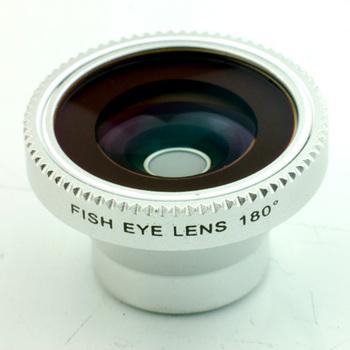 Free shipping 180 degree Best Camera fisheye lens for smart phone/Ipad/ ipod to take fisheye effect photos CL-2