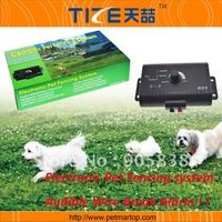 Free Shipping ! Smart Dog In-ground Pet Fencing System TZ-PET023 Expanded for yards up to 5 acres.Audible wire break alarm