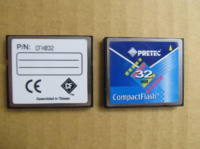 Карта памяти 100% Pretec /cf 32 CF-32MB карта памяти other pqi 32 compactflash cf cf 32mb