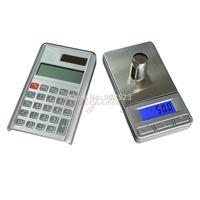 1000g x 0.1g Digital Pocket Jewelry Gold Silver Gem Gram Weighing Scale, Portable Carat Balance with Calculator +  Big Platform