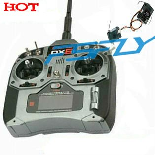 DX6i RC Full Range DSM2 6-channel Wireles  Radio transmitter with AR6200 receiver(Mode1 or Mode2)