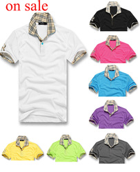 free shipping 2013 New Arrival Summer Men's brand designer men factory sale T-Shirts Polo Shirts/men's t-shirts CM025(China (Mainland))
