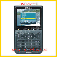 2003# SATLINK ws 6906 DVB-S FTA C&KU Band Digital Satellite Finder Meter 3.5 LCD+DHL Free shipping
