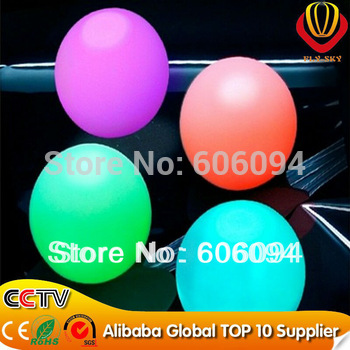 200pcs/lot LED BALLOON LAMP LED BALL LIGHT for Paper Lantern Balloon Floral Decoration LED Party Light for Balloon --RGB LED