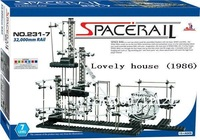 Good gift ! New space warp , Space Rail Level 7 DIY Educational Spacewarp Roller Coasters, level 7 marble roller coaster