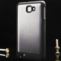 Aluminum cover for Samsung i9220 Mrtall back cover for Galaxy Note hard case for GT-N7000 with retail package