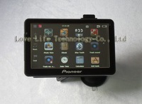 100%  Cheapest 7 inch Car GPS with FM AV-in Bluetooth DVR 128M HD MP4 E-book Freeshipping Chinapost 4GB TF Card + Extra USD3