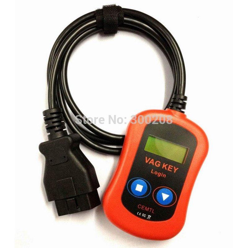 2014 Hot Sale 100% Guaranteed VAG PIN Code Reader/Key Programmer Device via OBD2 Wholesale + HKP Free Shipping(China (Mainland))