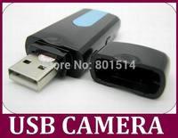 U8 Mini Camcorder USB Flash Disk Mini Camera with Motion detection 720*480 30pcs/lot Free DHL