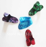 Mixed Colorful and Heavy Size Finger&Thumb Guitar Picks Plectrums