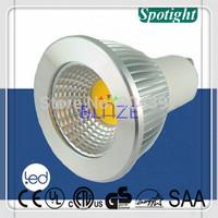 Promotion 2pcs Energy Saving cob dimmable led gu10 5W Warm White 3000K spotlight lamps replace halogen