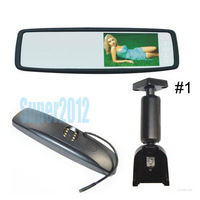 car rear view system for KIA K2 with mirror monitor rear view monitor free shipping sale