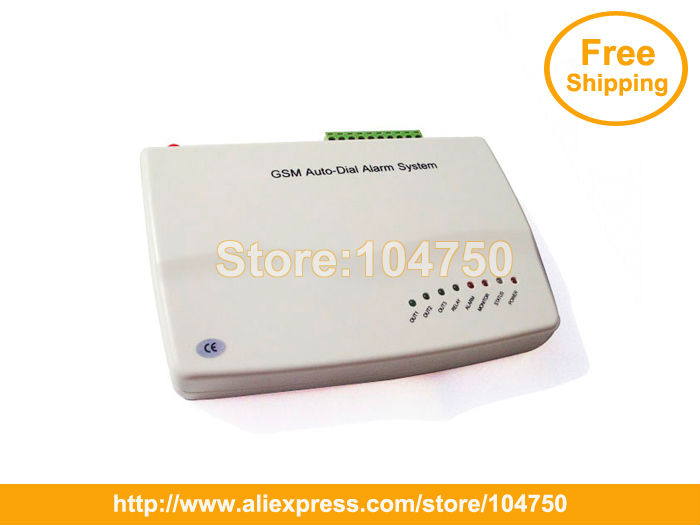 EMS Free Shipping Black Cover Wireless 99 Wireless zone and 3 wired zones GSM home alarm system 007M3 (850/900/1800/1900MHZ)(China (Mainland))