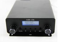 CZE-15A 15W stereo PLL FM transmitter broadcast radio station