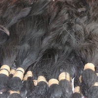 100% Brazilian virgin hair bulk AAAA top quality and chemical free really nice hair