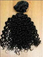 12&quot;-30&quot; Virgin brazilian remy human hair deep curl weft 5pcs/lot 500g DHL shipping off black for your nice hair