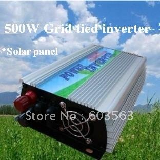 2pcs/ Lot 500w grid tie power inverter for solar panel pure sine wave + DHL/ EMS/FedEx/UPS FREE SHIPPING