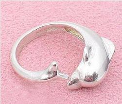 Trendy Simply Designer Jewelry Alloy Dolphin Ring B4R9C