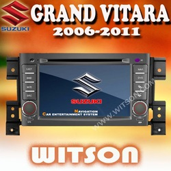 "WITSON 3G SPECIAL 7 "" 2 DIN SUZUKI GRAND VITARA Car DVD Player with GPS BLUETOOTH RDS IPOD +Free Shipping+Free Map(China (Mainland))"