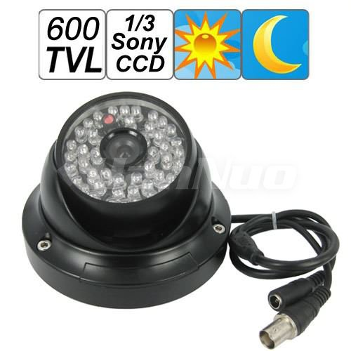 Free Shipping! Hot sale! Dome Design 1/3 Sony CCD Waterproof CCTV Camera /Security Video Surveillance Support Night Vision(China (Mainland))