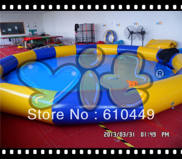 6.5x6.5x0.5 circular inflatable water pool(China (Mainland))