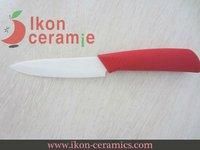 """Free Shipping! High Quality 4"""" AJX Ceramic fruit knife New 100% Zirconia Ceramic Knife(AJ-4001W-BR)"""