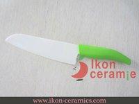 "Free Shipping! High Quality Zirconia Ceramic knife New 100% 7"" Ikon Ceramic Chef Knife(AJ-7001W-AG)"