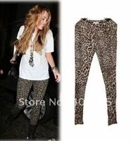 Free shipping Sexy Legging Pants Leopard women sexy pants 100% Brand New